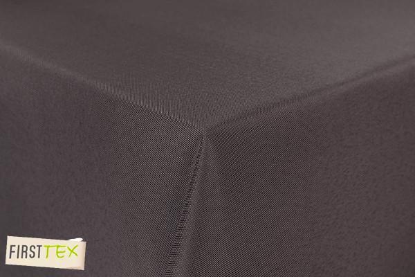 First-Tex Gartentischdecke uni 130x220cm eckig in taupe pflegeleicht farbecht