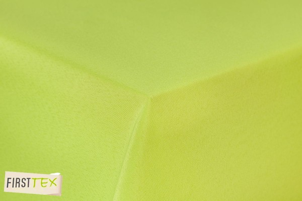 First-Tex Gartentischdecke uni 110x140cm eckig in hellgrün